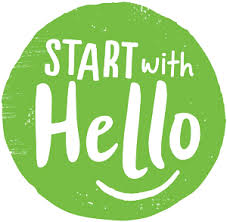 start with hello image
