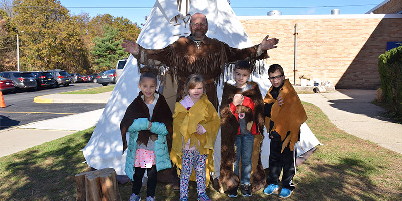 Experiencing Native American Culture at Norwood Avenue photo
