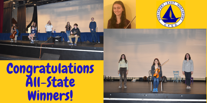 Northport High School Seniors Selected for All-State