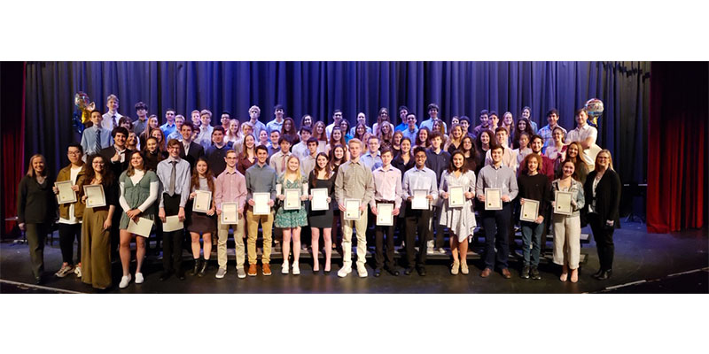 Northport HS students inducted into Math Honor Society