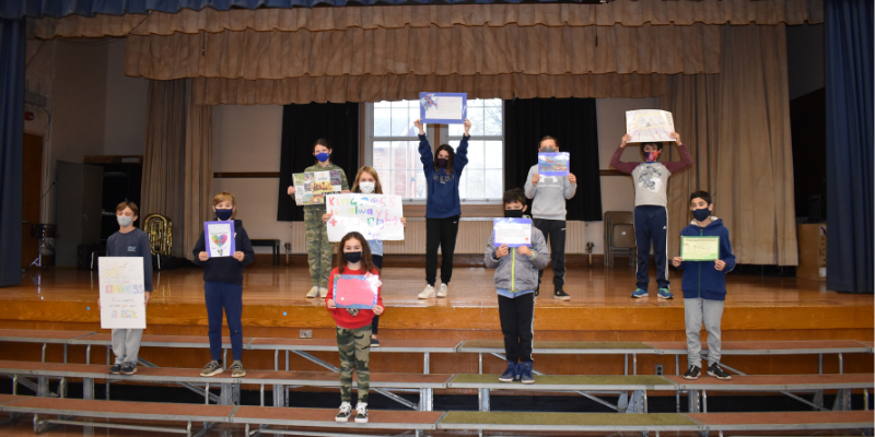 Northport Students Celebrate World Kindness Day
