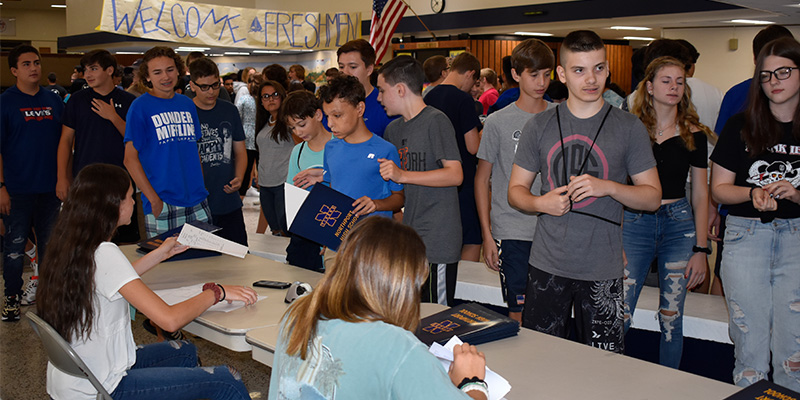 Freshmen are welcomed at Northport