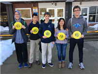 Northport High School Mathletes Place 5th photo