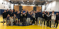High school varsity wrestling team earns league title photo thumbnail161672