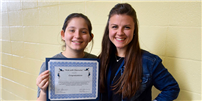 Students Recognized for Outstanding Character Photo