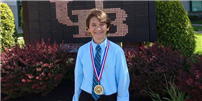 East Northport Middle School Student Reaches Premier Science & Engineering Competitions Again! Photo thumbnail79561