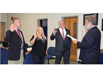 District Board of Education Reorganizes for 2018-19 photo