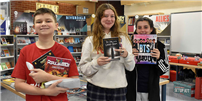PTSA encourages students to read At Northport Middle School photo  thumbnail136610