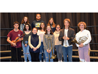 NHS musicians selected for All-County and All-State festivals photo