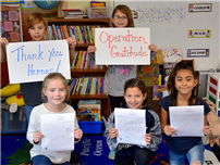 Operation Gratitude at Fifth Avenue Elementary photo
