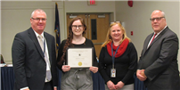 Northport recognizes English Student of the Month photo thumbnail144085