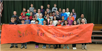 Dickinson Elementary Raises Dollars for Dickinson, Texas photo