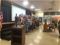 Eagle Scout project dedication at Bellerose Avenue Elementary photo 3