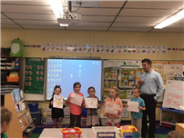 High School Heroes Visit Bellerose Elementary photo 4