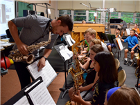 District's Art and Music Program Heats Up During Summer Photo